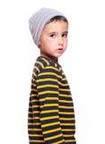 Criança órfão desabrigada deficiente Fotos de Stock Royalty Free