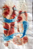Criança abstrata do desenho do fundo Imagem de Stock Royalty Free