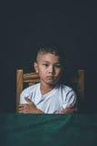 Criança abusada fotografia de stock royalty free