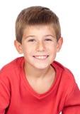 Criança adorável com cabelo louro Fotos de Stock Royalty Free