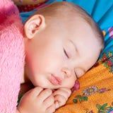 Criança adormecida Fotos de Stock Royalty Free