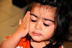 Criança adormecida Imagens de Stock