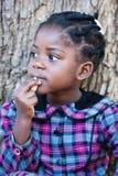 Criança africana fotografia de stock royalty free
