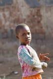Criança africana bonita fotografia de stock