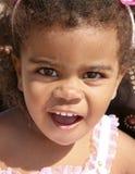 Criança africana feliz Fotos de Stock Royalty Free