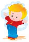 A criança alegre Imagens de Stock