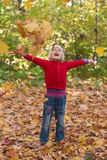Criança alegre Fotografia de Stock