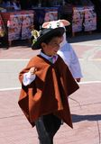 Criança andina 2 Imagem de Stock