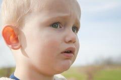 Criança ansiosa fotos de stock royalty free
