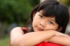 Criança asiática bonito Imagens de Stock Royalty Free