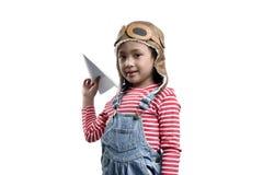 A criança asiática de sorriso que joga com brinquedo forra o plano foto de stock royalty free