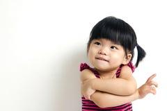 Criança asiática do bebê Imagem de Stock