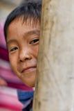 Criança asiática feliz Imagem de Stock Royalty Free