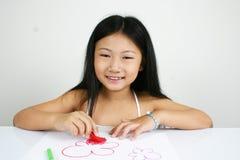 Criança asiática nova 008 Imagens de Stock Royalty Free