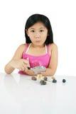 Criança asiática nova 008 Foto de Stock Royalty Free