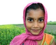 Criança bengali rural bonito Imagem de Stock Royalty Free