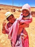 Criança boliviana Fotos de Stock Royalty Free
