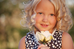 Criança bonita. Imagens de Stock Royalty Free