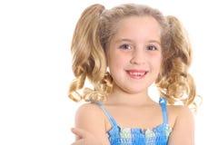 Criança bonito com copyspace Fotos de Stock Royalty Free