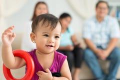 Criança brincalhão Imagem de Stock Royalty Free