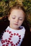 Criança calma Fotos de Stock Royalty Free