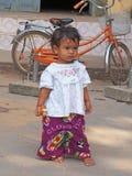 Criança cambojana nova Fotos de Stock Royalty Free