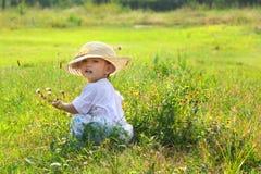 Criança chinesa Foto de Stock Royalty Free