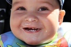 Criança com sorriso Imagens de Stock Royalty Free