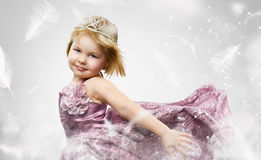 Criança da beleza Fotografia de Stock Royalty Free