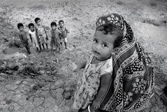 Criança da menina em India fotografia de stock royalty free