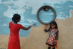Criança da menina em India Imagem de Stock