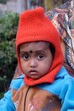 Criança da menina na Índia imagens de stock