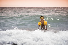 Criança da natação Fotos de Stock