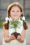 Criança da natureza Fotos de Stock Royalty Free