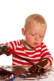 Criança da pintura imagem de stock royalty free