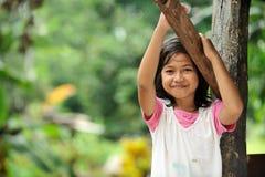 Criança da pobreza Fotos de Stock