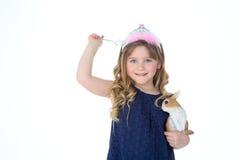 Criança de gracejo Fotografia de Stock Royalty Free