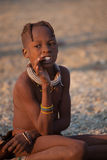 Criança de Himba Fotografia de Stock