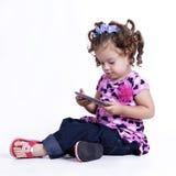 Criança de investigação Imagem de Stock