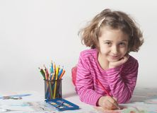 Criança de Littl imagens de stock royalty free