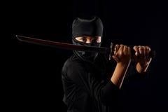 Criança de Ninja foto de stock