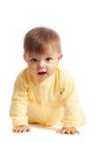 Criança de rastejamento foto de stock royalty free