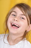 Criança de riso feliz imagens de stock