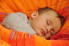 Criança de sono fotos de stock
