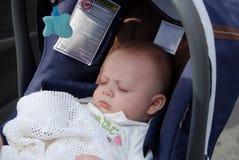 Criança de sono Fotografia de Stock Royalty Free