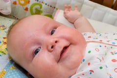 A criança de sorriso Foto de Stock Royalty Free