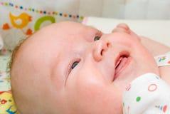 A criança de sorriso Imagens de Stock Royalty Free