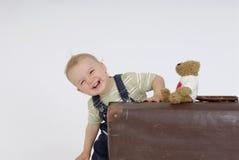 Criança de sorriso Foto de Stock Royalty Free