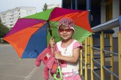 Criança de sorriso Imagem de Stock Royalty Free