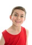 Criança de sorriso bonita do menino imagens de stock